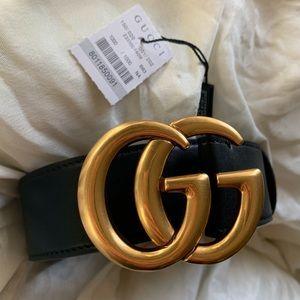 ßNew Gucci Belt Áùthentïç Double G Marmot